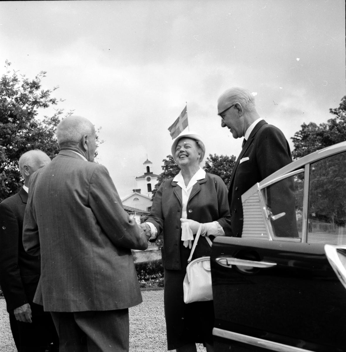 Skog, Landshövding,bessök, 24 Augusti 1962