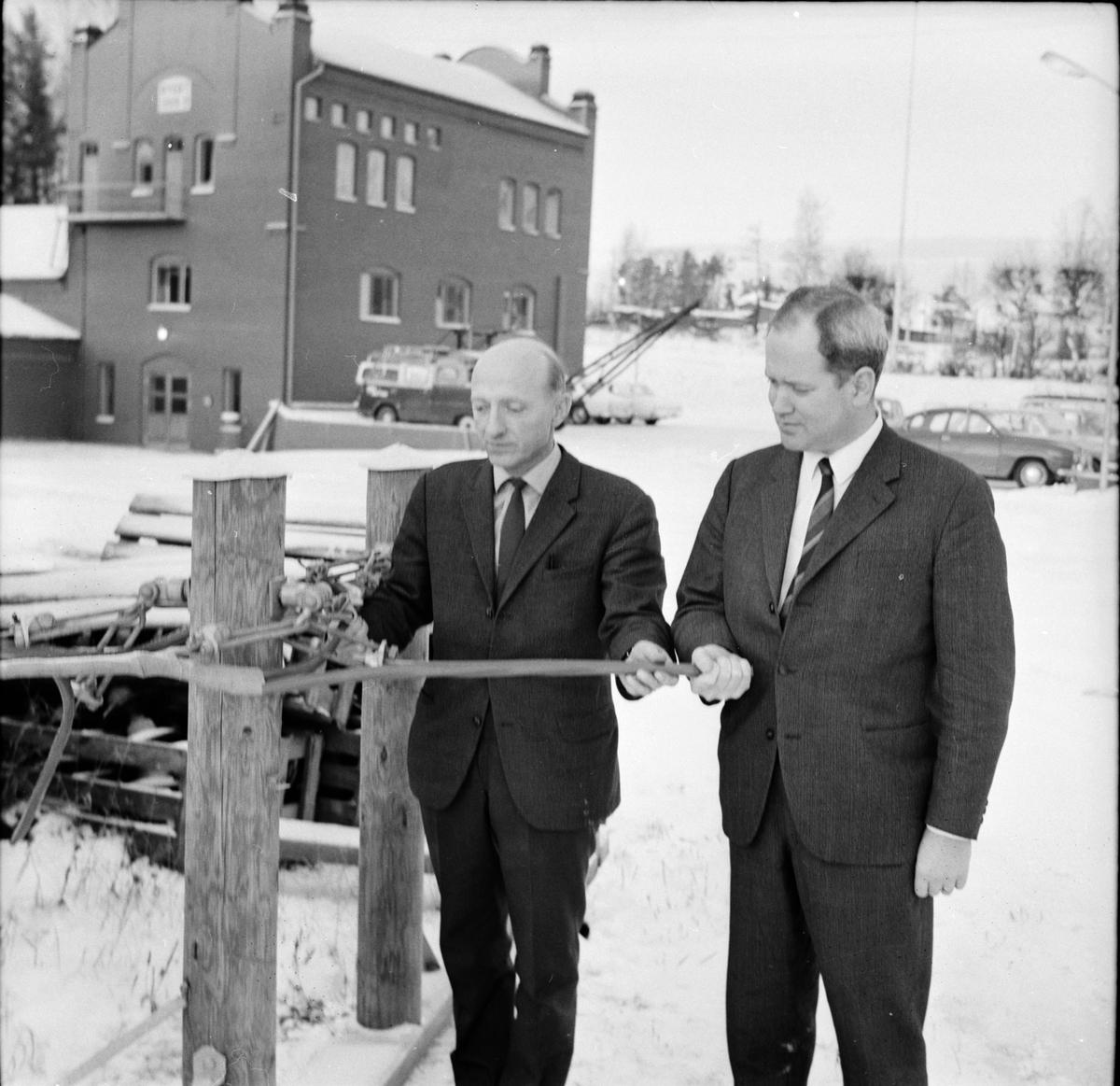 Arbrå, Kraftverkets visning, 9 December 1967