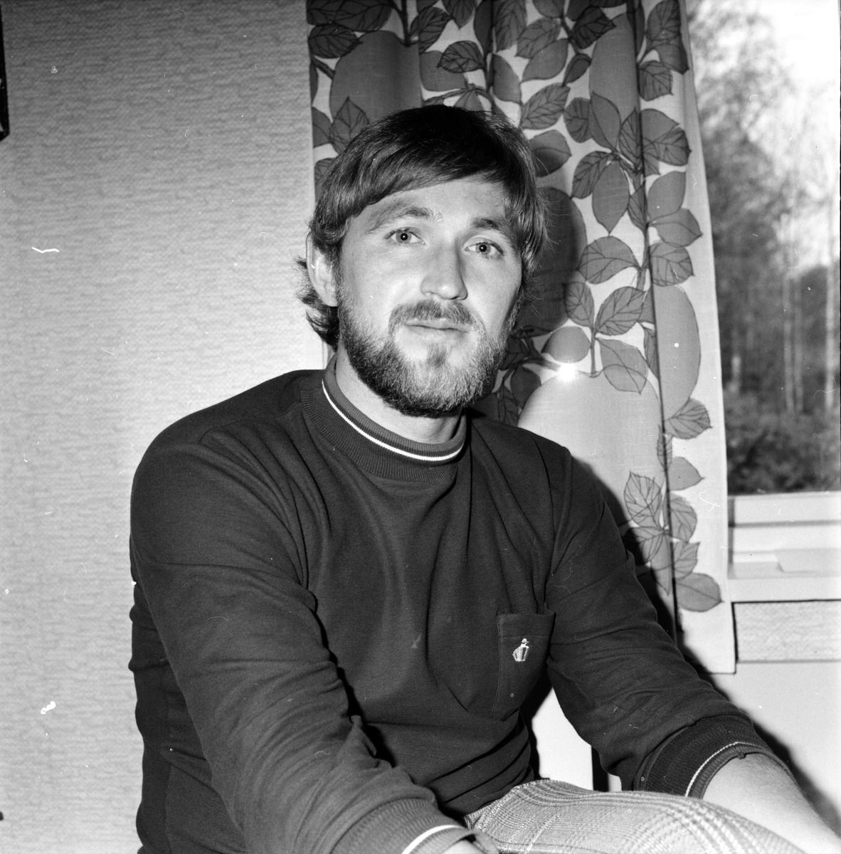 Arbrå, Ulf Arbinger, Fritidsassistent, Oktober 1971