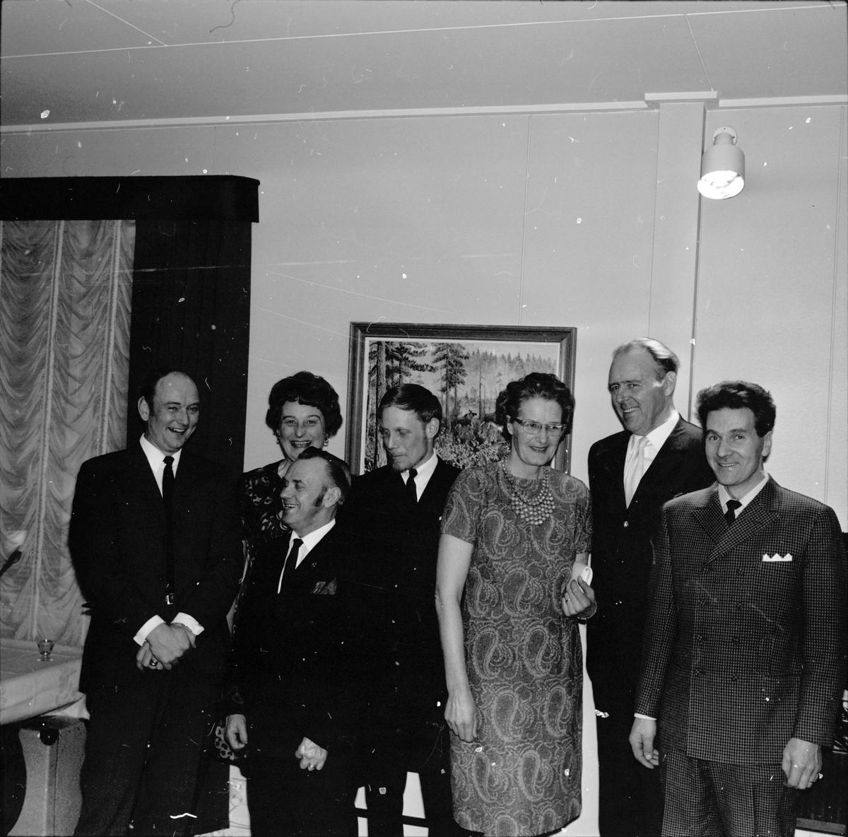 Arbrå, Skogsbrukslaget på fest, Mars 1970