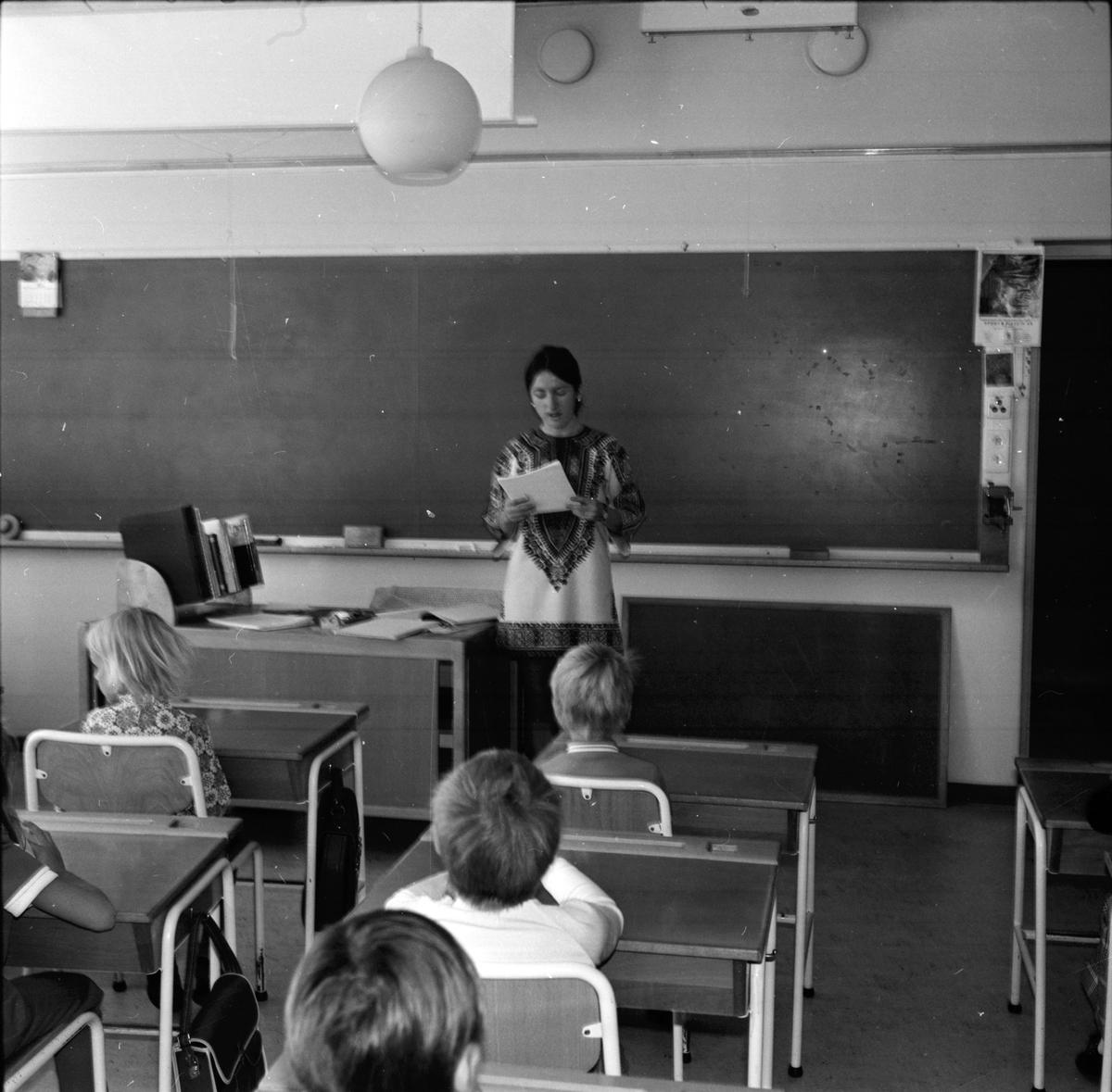 Arbrå, Skolan börjar ht. aug, 1971