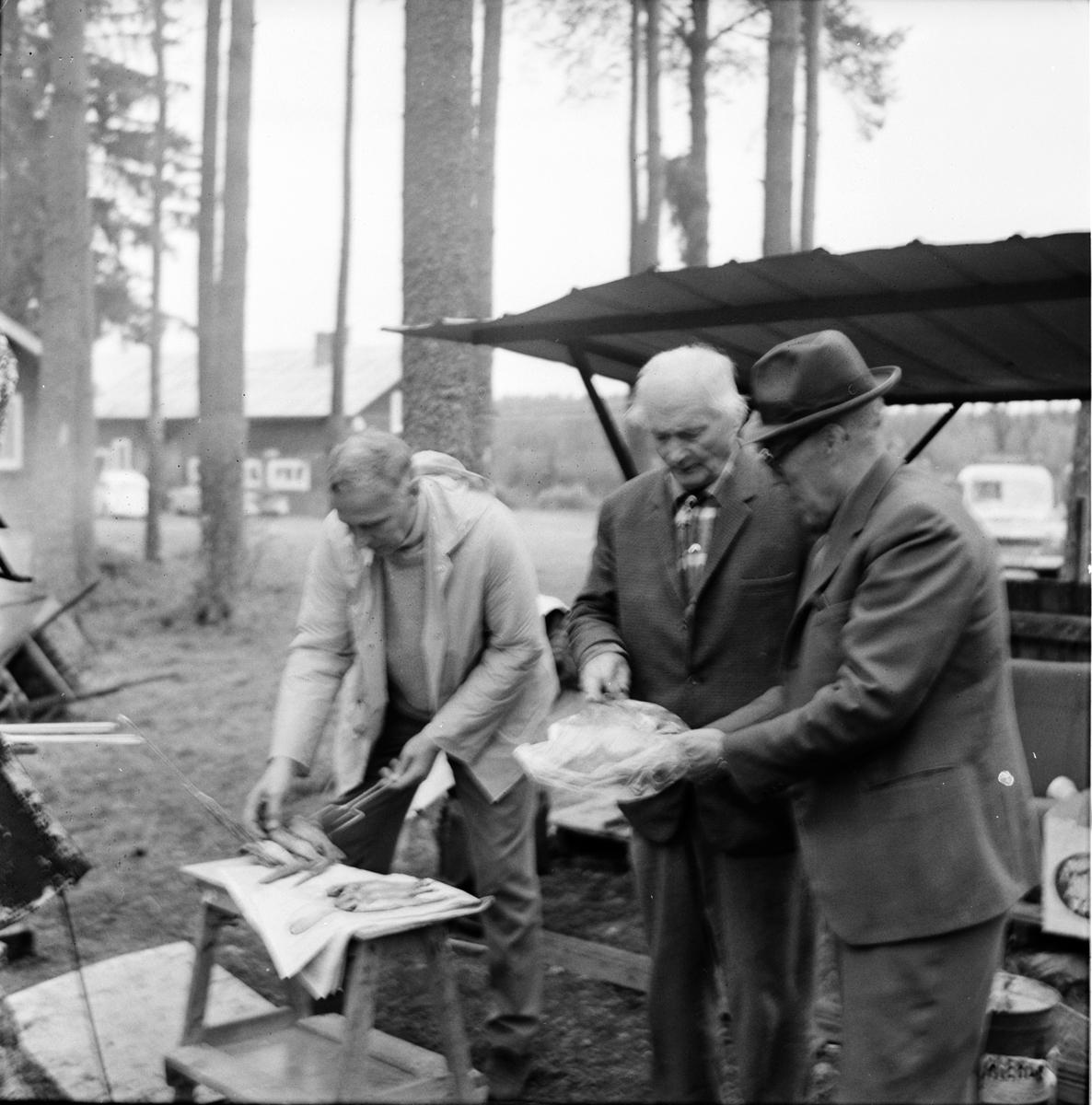 Jonas Sandbäck. Lördagskväll på Börsval. 10/9-1966