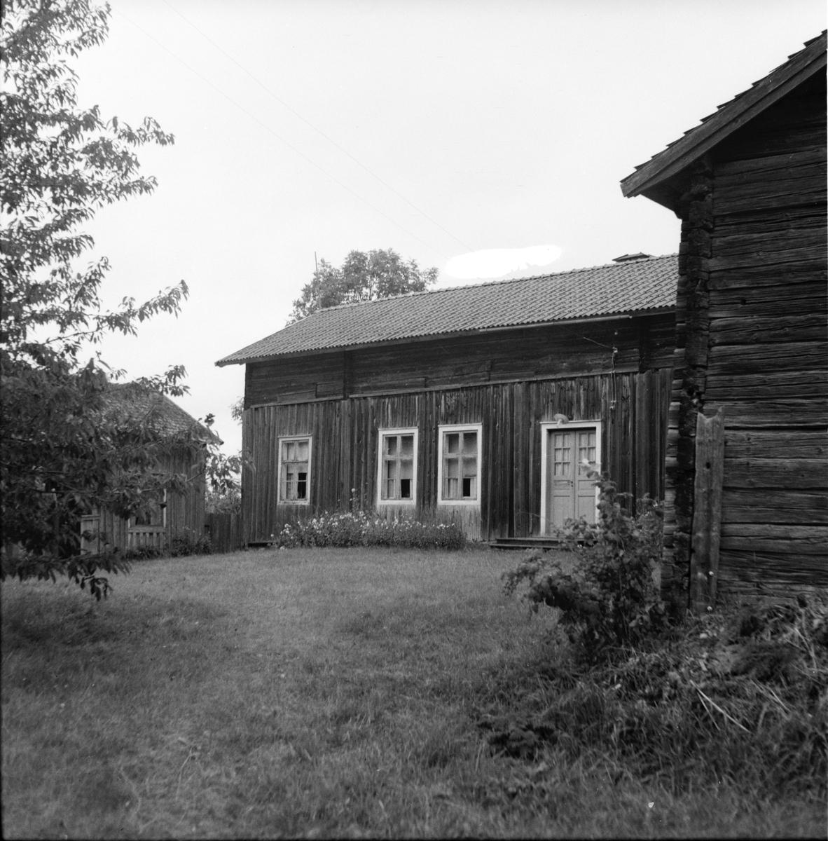 Hus i Skärså, Hälsingland.