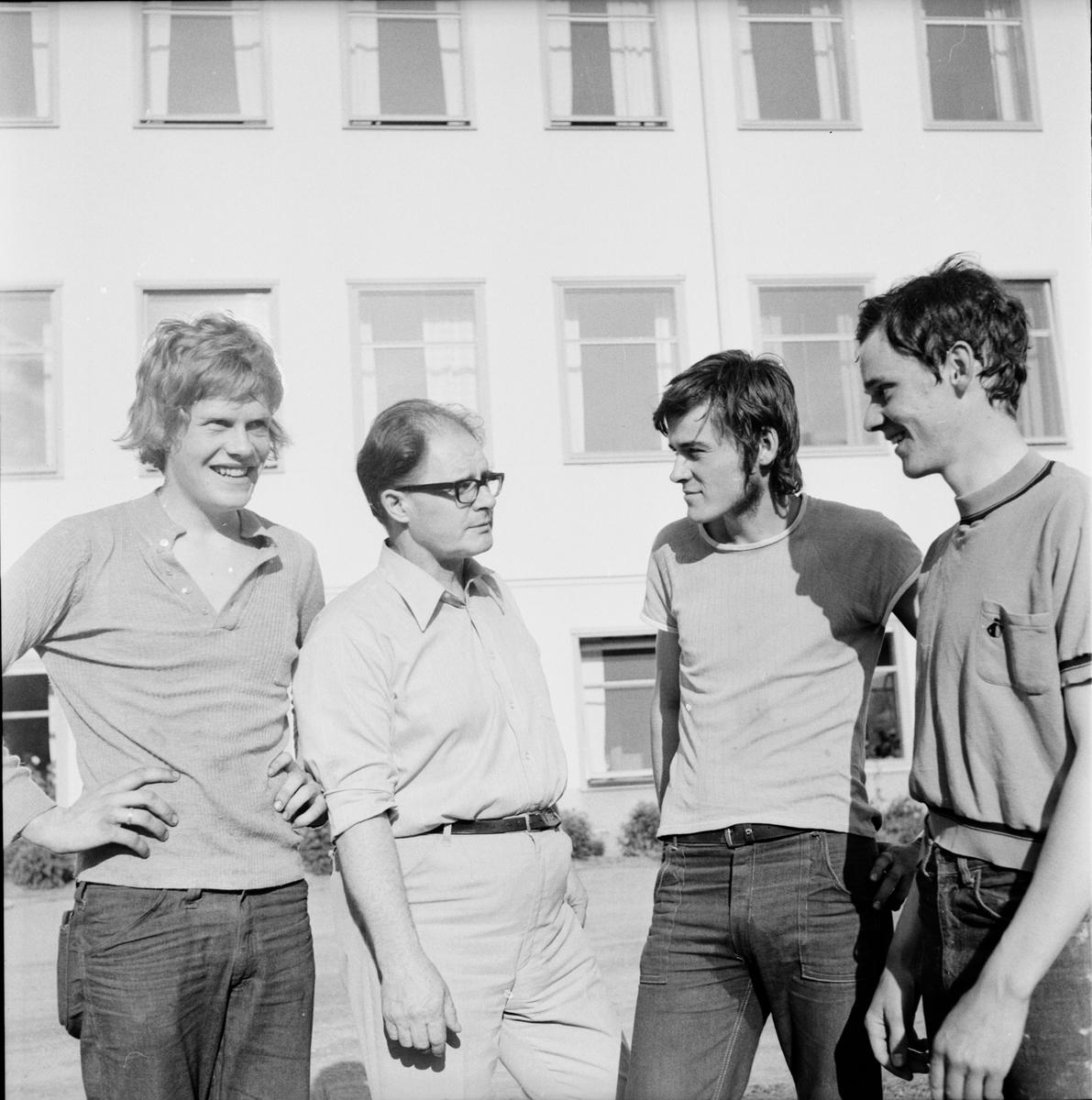 Nytorp, Skolavslutning, Juni 1972