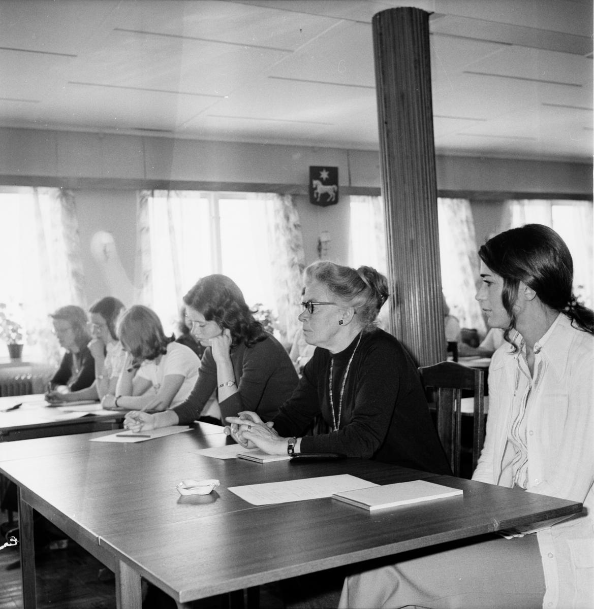 Hembygdsforbundets årsmöte i Valbo Juni 1972