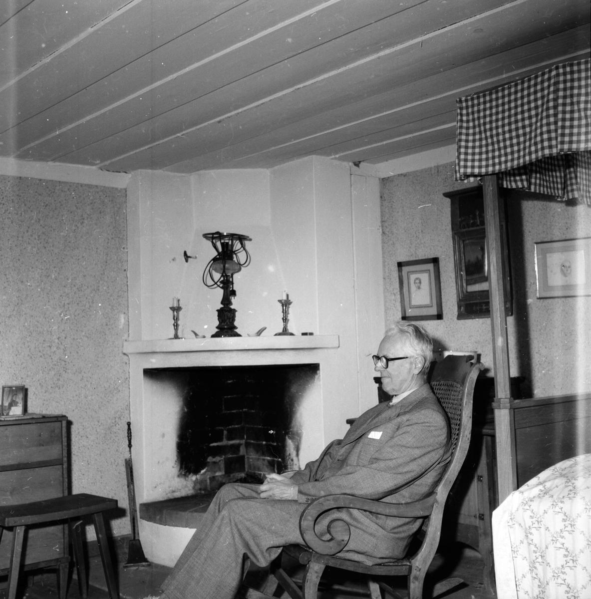 Professor Sixten Strömbom Tomterna 11/8 1959