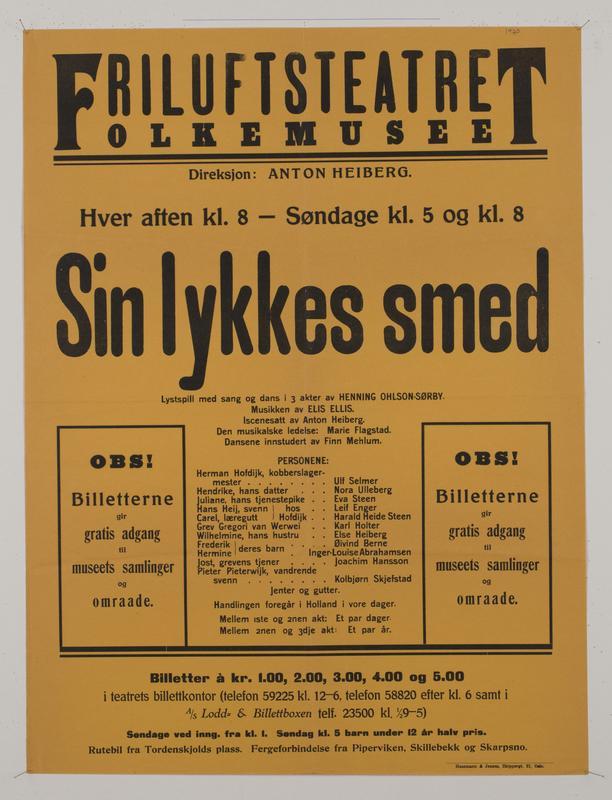 Teaterplakat NF.34668-074