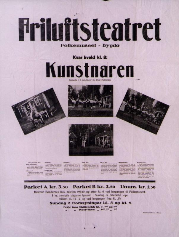 Teaterplakat NF.21347-0163 (Foto/Photo)
