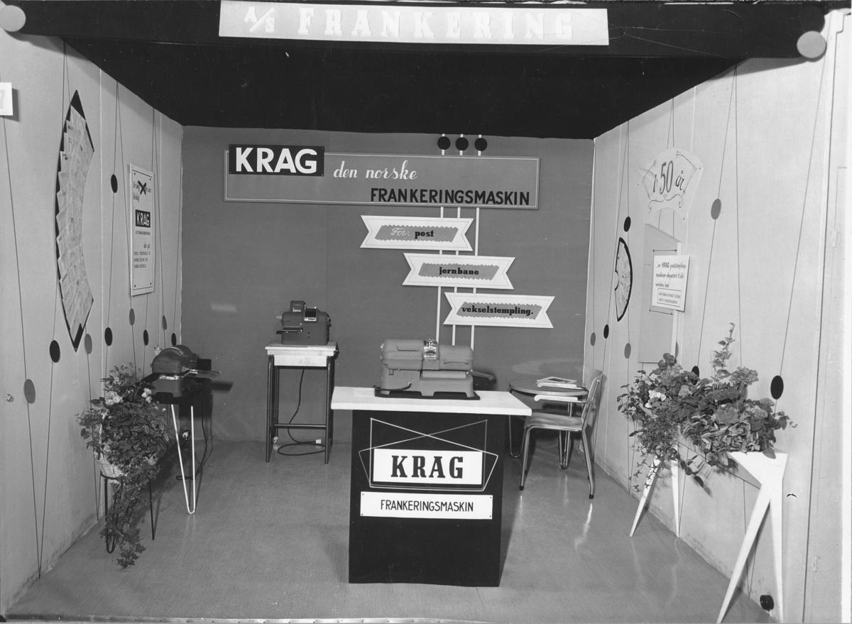 Krag Maskinfabrikk. Frankeringsmaskin.