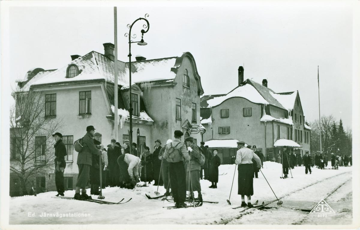 Ed Järnvägsstation