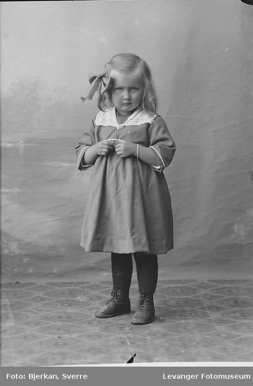 Portrett Dagny Olsen.