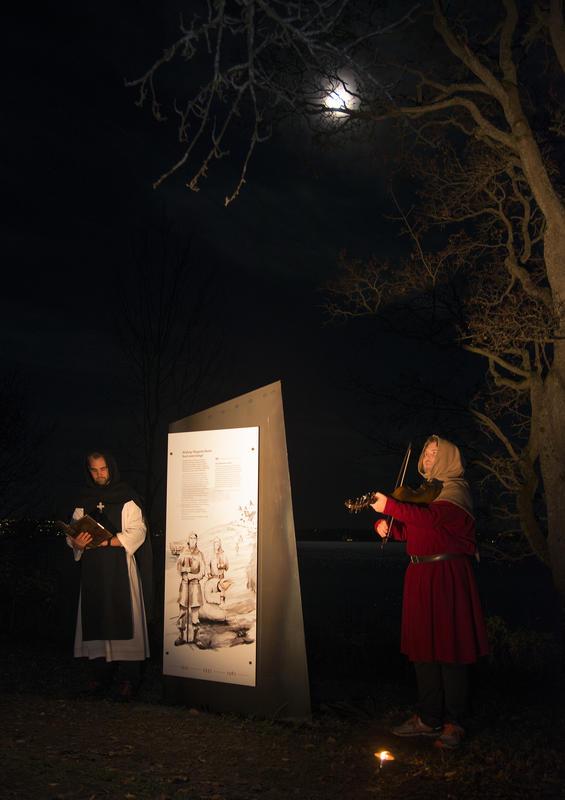 """Biskop Mogens' siste ord da han ble ført bort fra Hamar var: """"Vale, vale, vale!"""""""