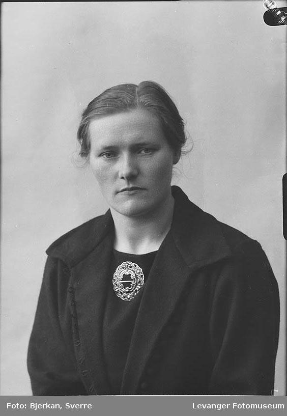 Portrett av Sigrid Ulset.
