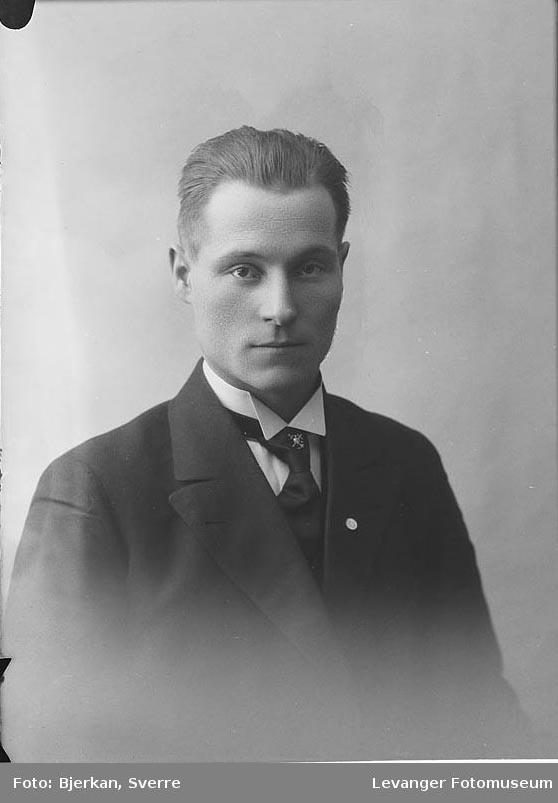 Portrett av  Jensberg Nygård