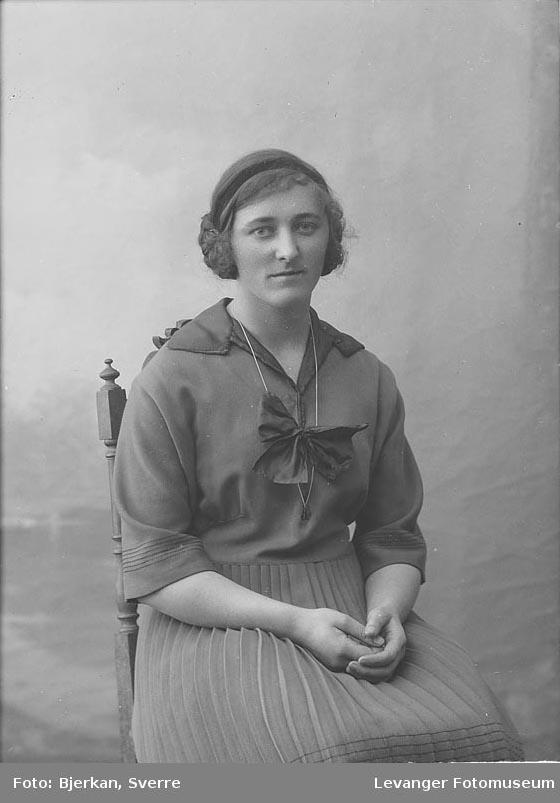 Portrett av Ida Varvik