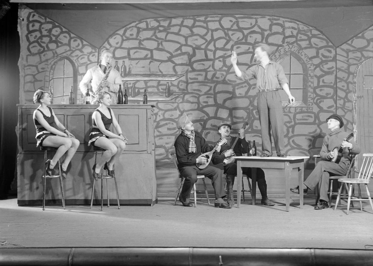 Larsens orkester under Motoruka 1934