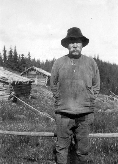 """Damm-Jussi"" Johan Andersson Damberg f 1866 i Snårberg, Vitsand"