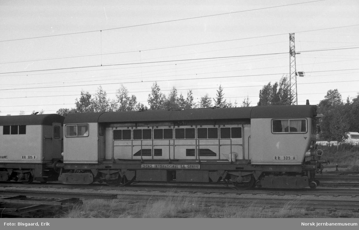Slipetog fra Speno nr RR 325 under opphold på Ski stasjon