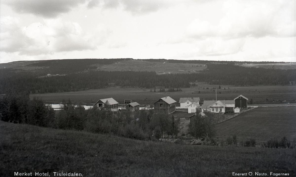 Merket feriesenter, Tisleidalen, Nord-Aurdal.