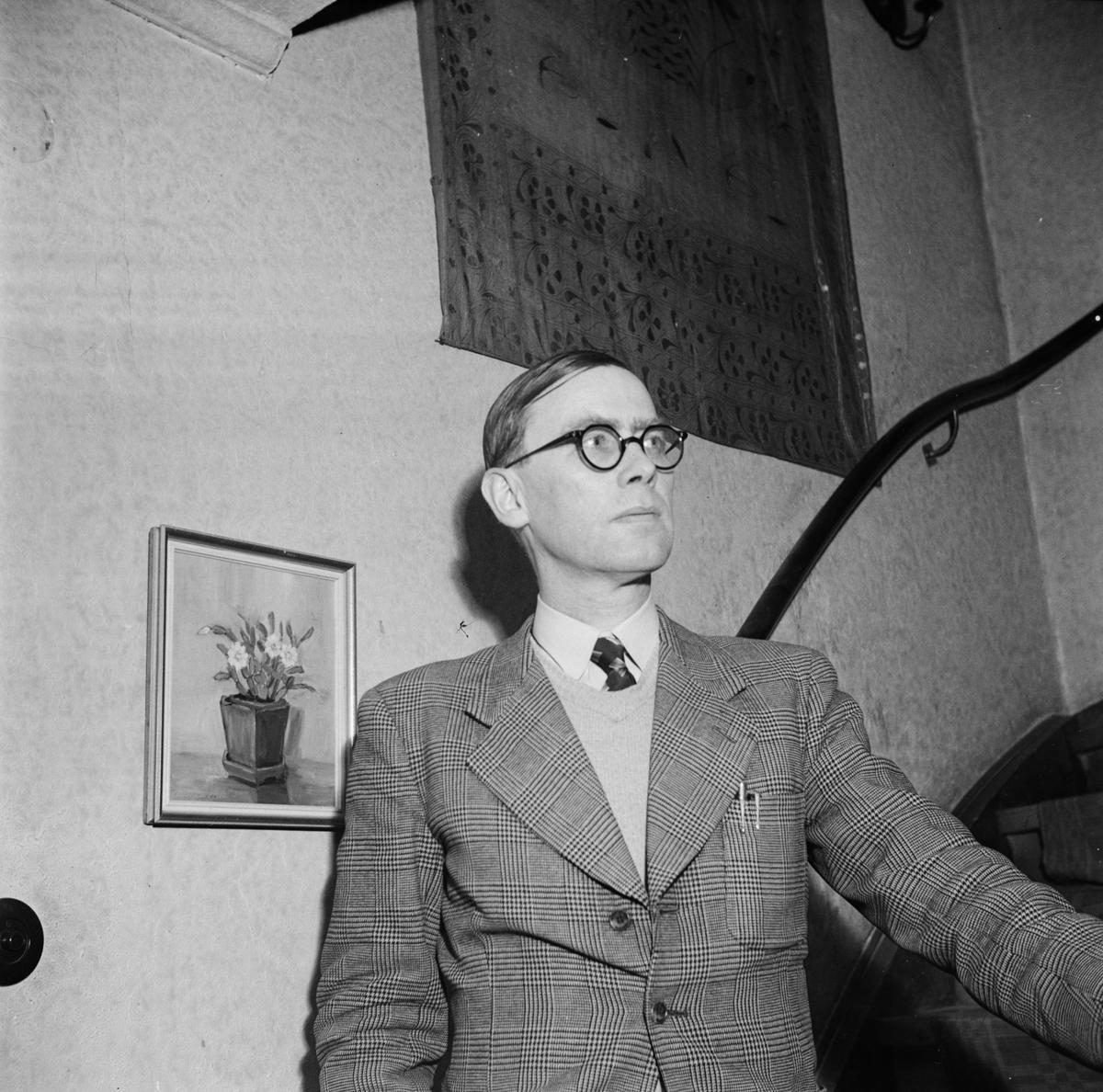 Professor Scheiner, Uppsala, januari 1947