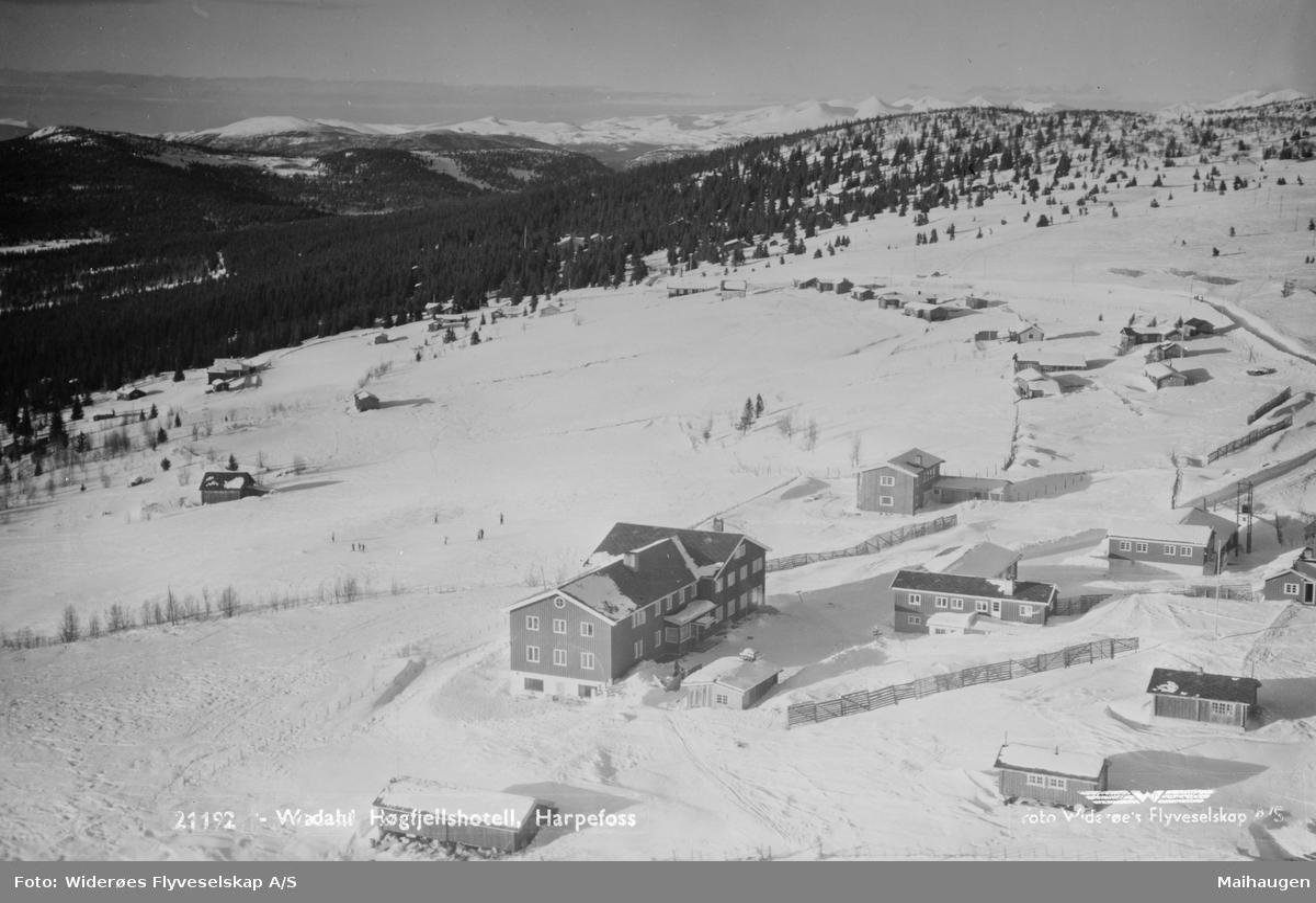 Wadahl Høgfjellshotell, Gålå, Sør-Fron, Postkort