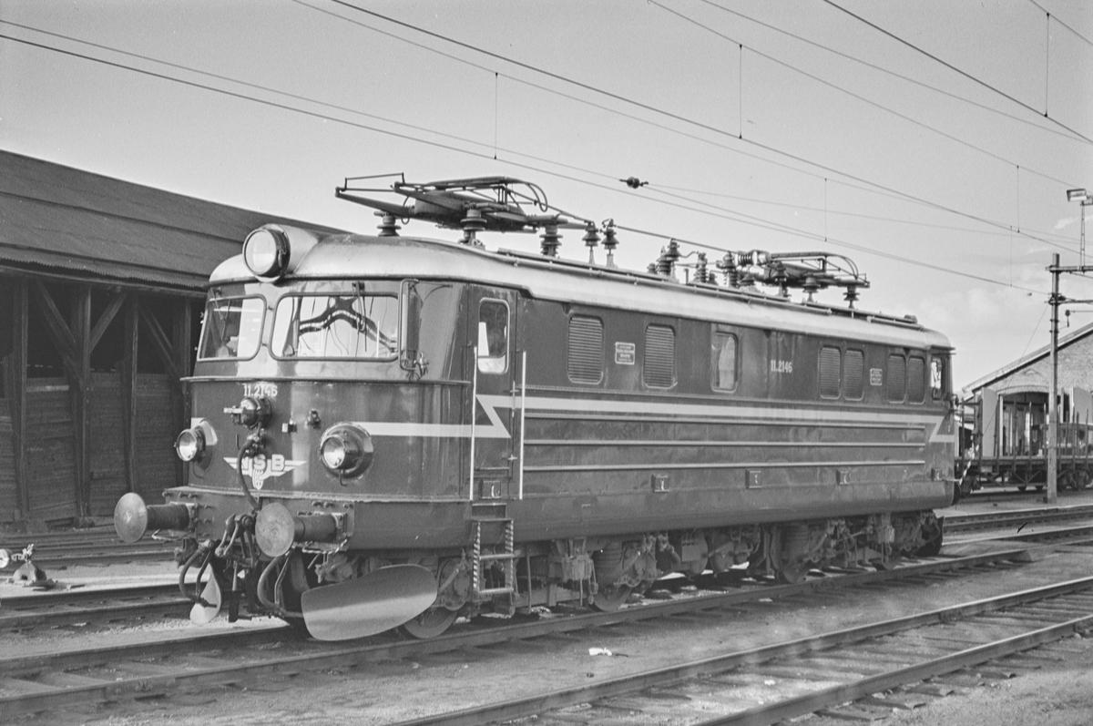 Elektrisk lokomotiv type El 11 nr. 2146 på Kongsvinger stasjon.