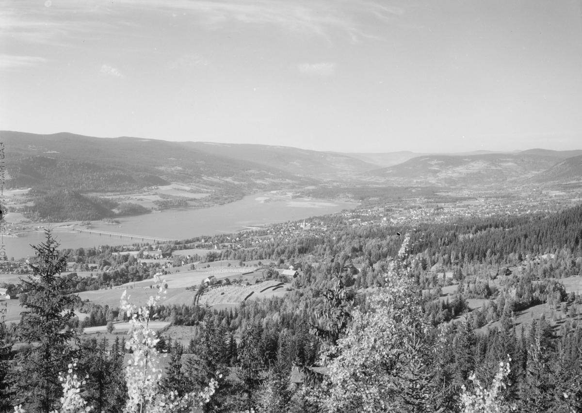 Lillehammer by sett fra Solhøgda.