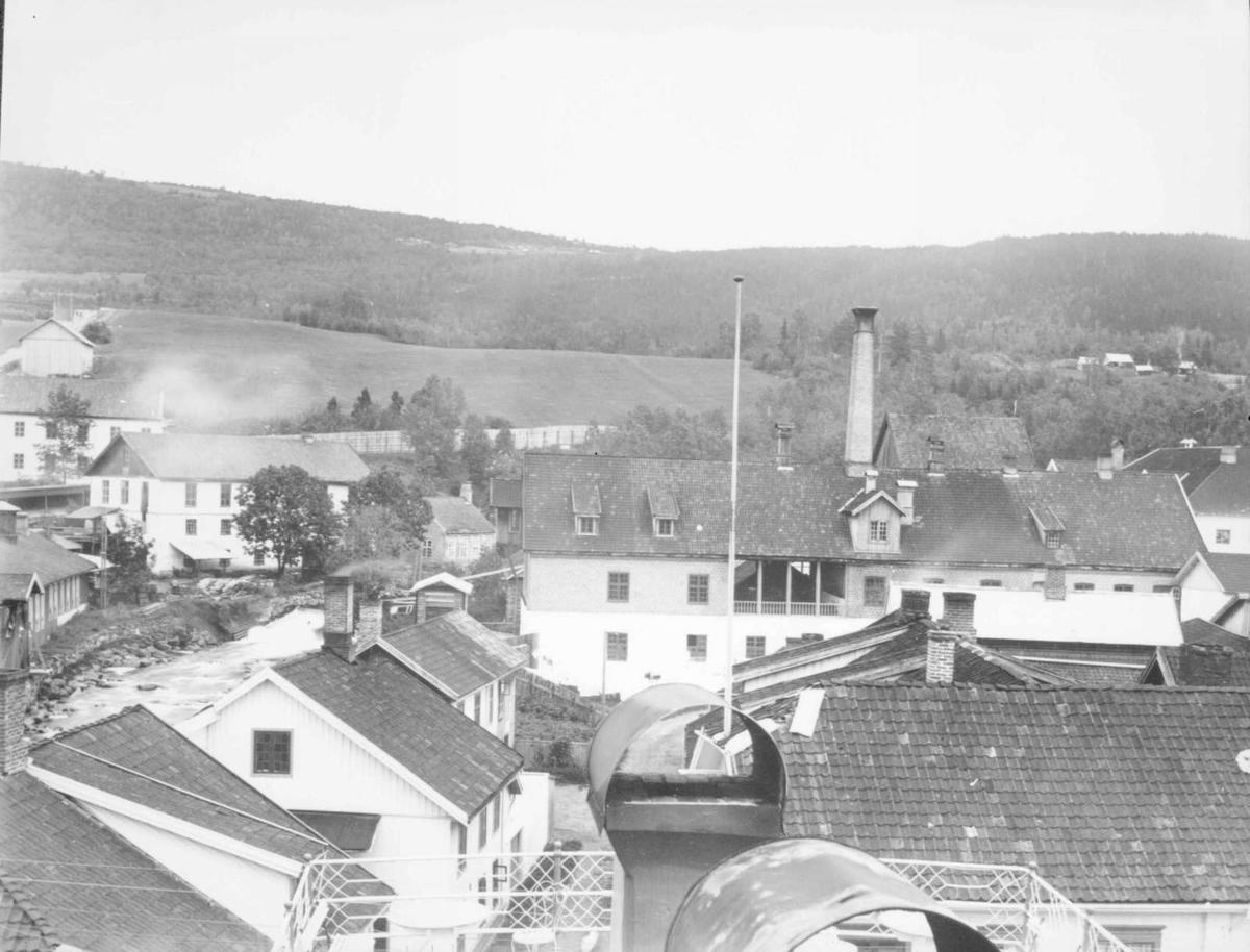 Repro: Lillehammer, søndre bydel øst for Storgata.