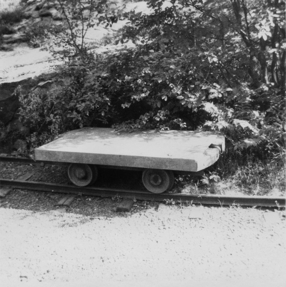 Transporttralle på Rekefjordbanen