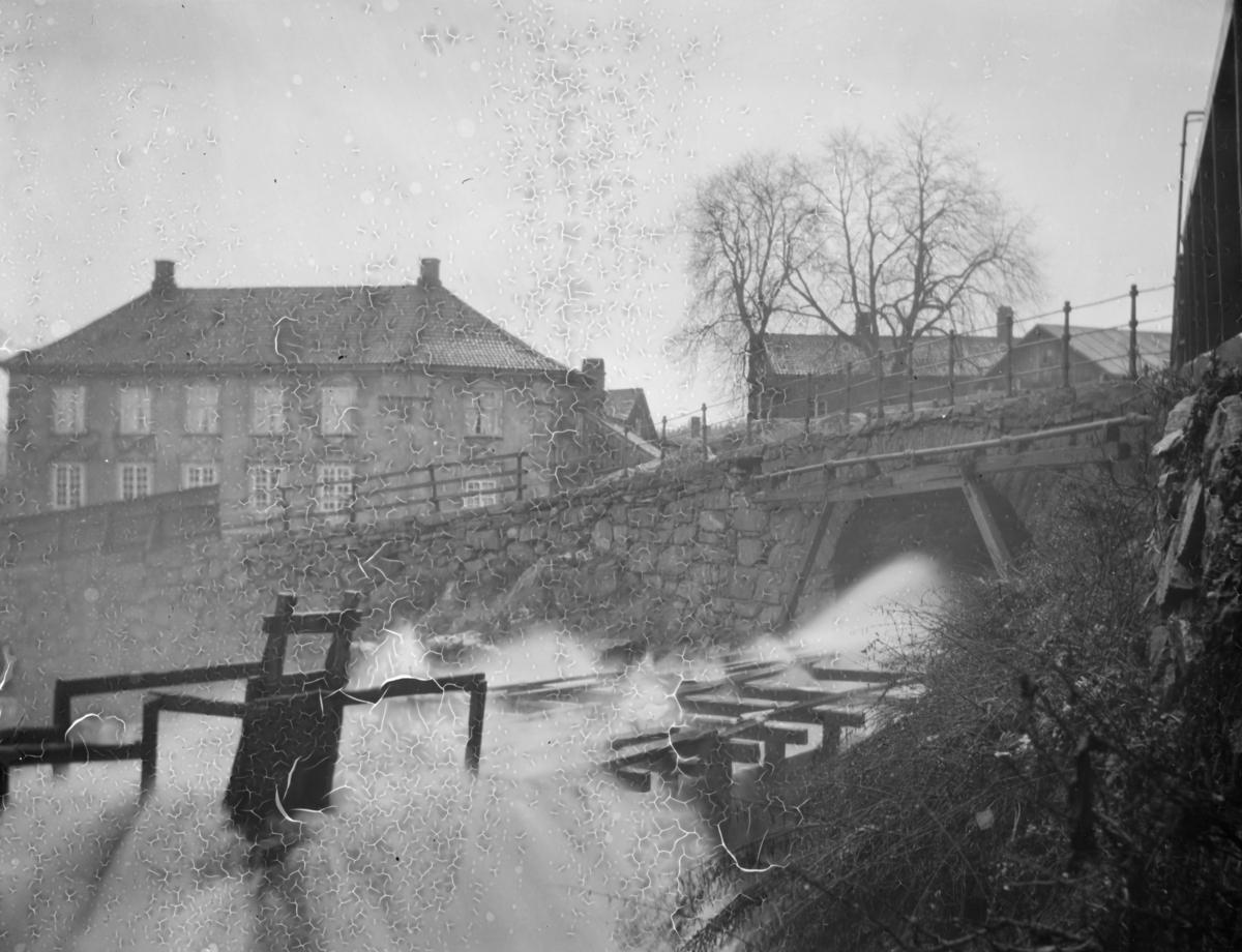 Konvensjonsgården i Moss med Storebro i forgrunnen