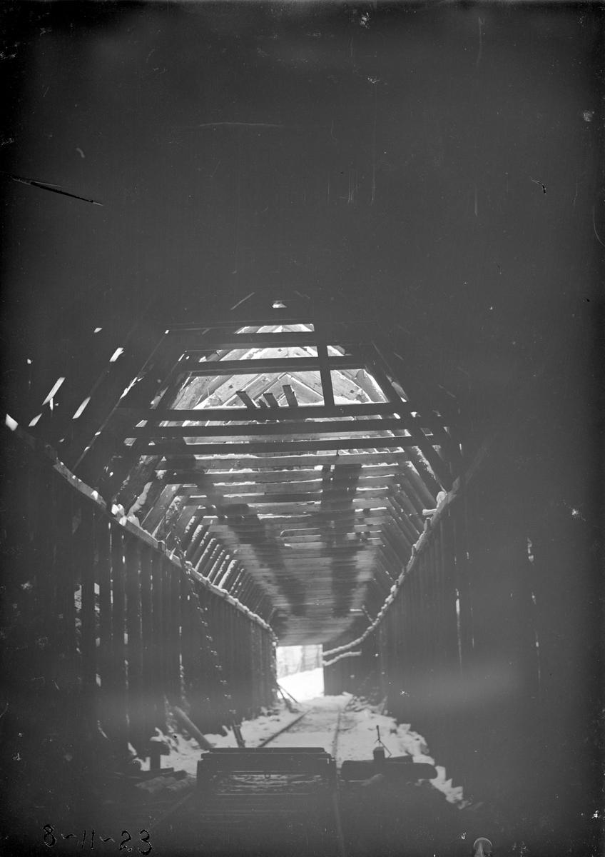 Jernbanebygging Mellom Bjorli og Suguflotten, se SS-STB-099 Takoverbygg over jernbanen