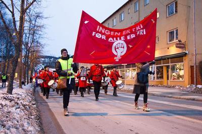8. mars i Kongsvinger 2017. Foto/Photo