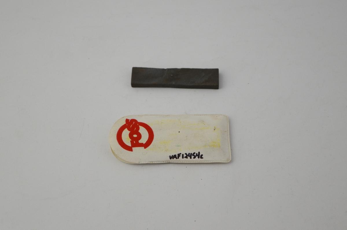 3 stk. rektangulære slipesteiner i etui/eske, brukt til sliping av barberkniver.