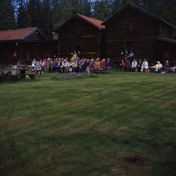 Gökotta i Västerby hembygdsby, Rengsjö 1 juni 2000. Deltagar