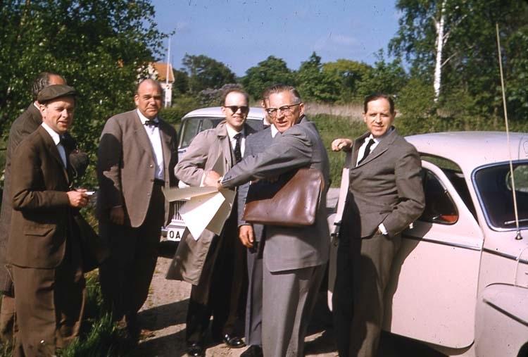 """Maj 1961. """"Änglamarken"""", blivande Essos industriområde."""