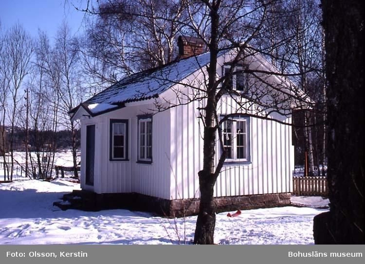 """Text på kortet: """"ES Knarrevik Brastad sn. (Bräcke 1:12) Mars 1987""""."""