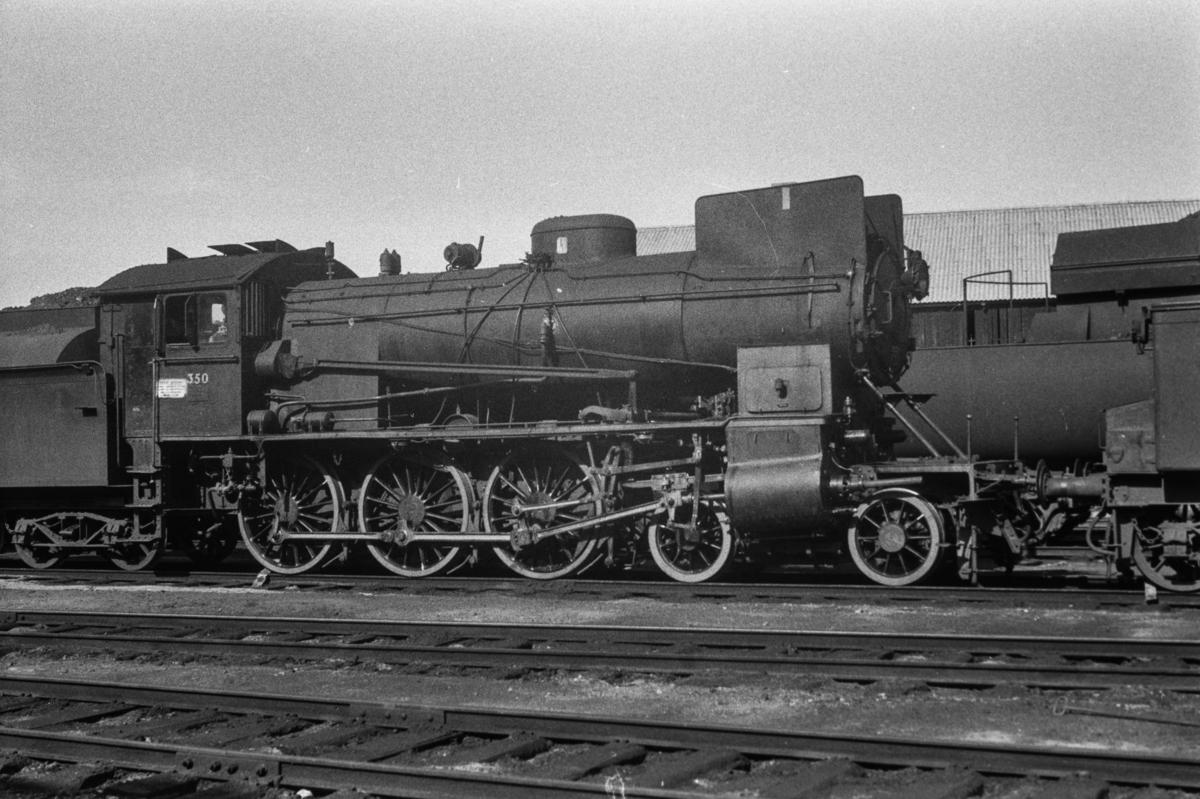 Damplokomotiv type 30b nr. 350.