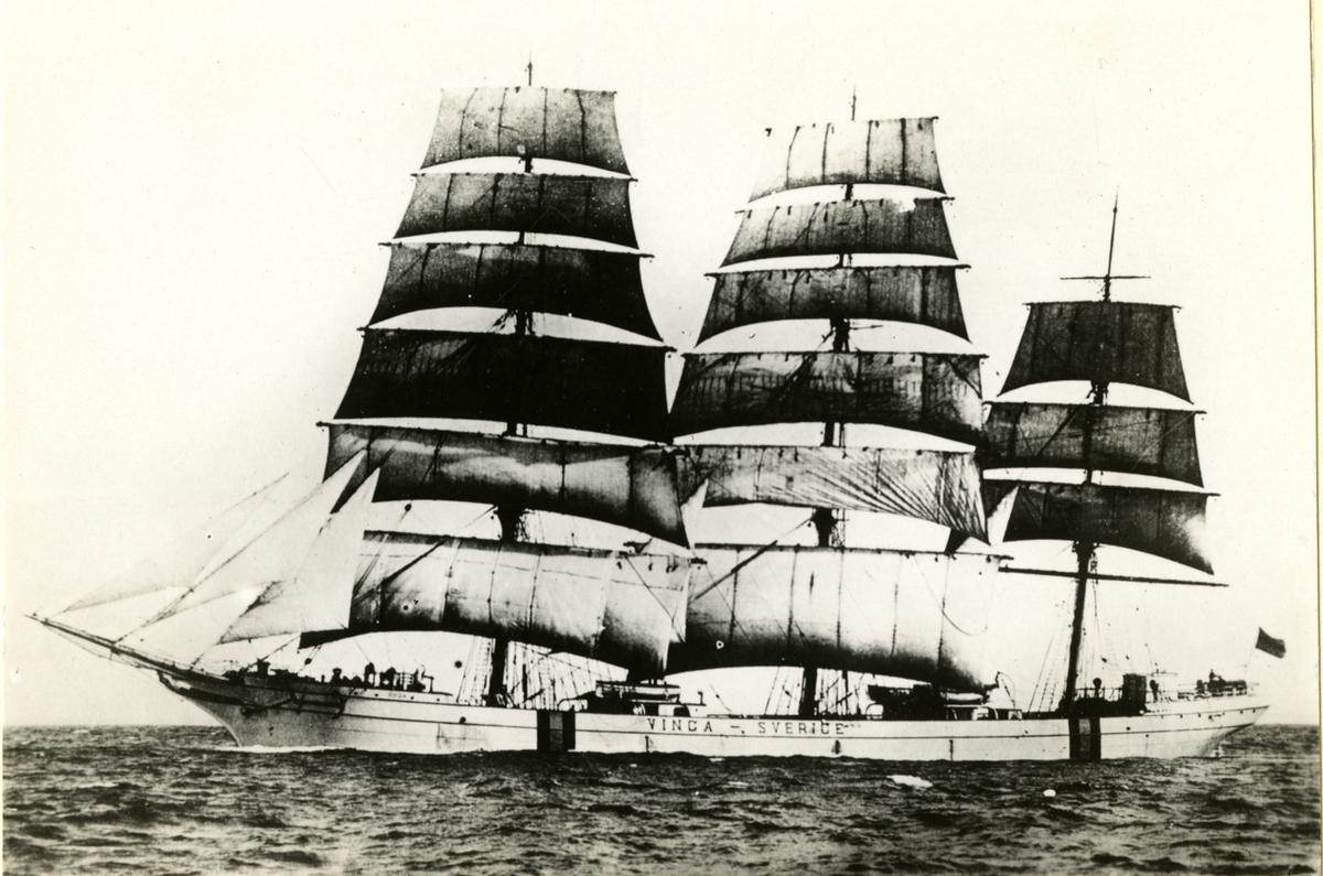 Fullrigger 'Vinga' (ex 'Brabloch')(b.1889, Barcley Cush T& Co., Glasgow, Skottland)