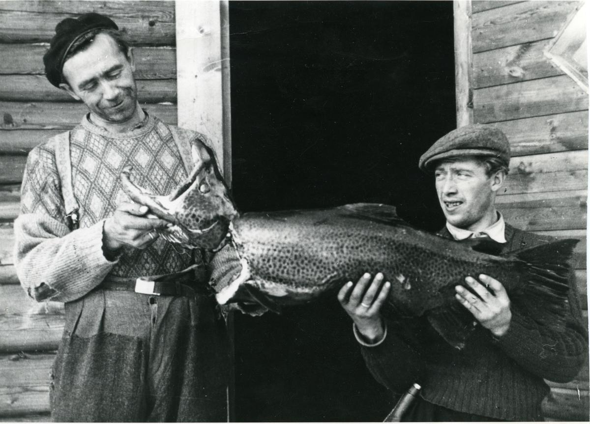 Knut Slettebråten og Olav Eriksen.