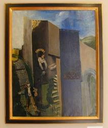 La Rue de Cagnes [Maleri]