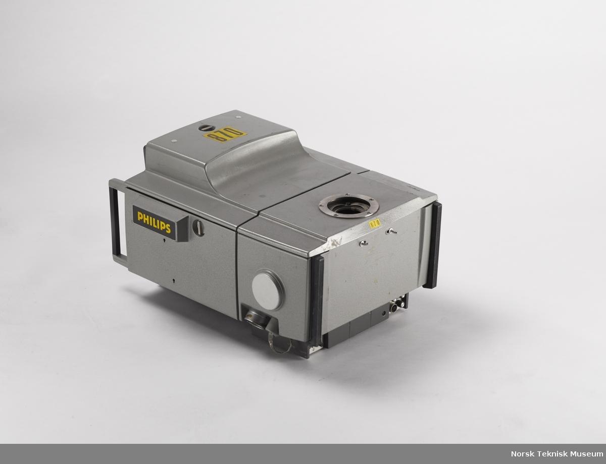 Philips LDK 5 kamerahus for fargefjernsynskamera. Påmonteres optikk og monitor og festes på stativ.