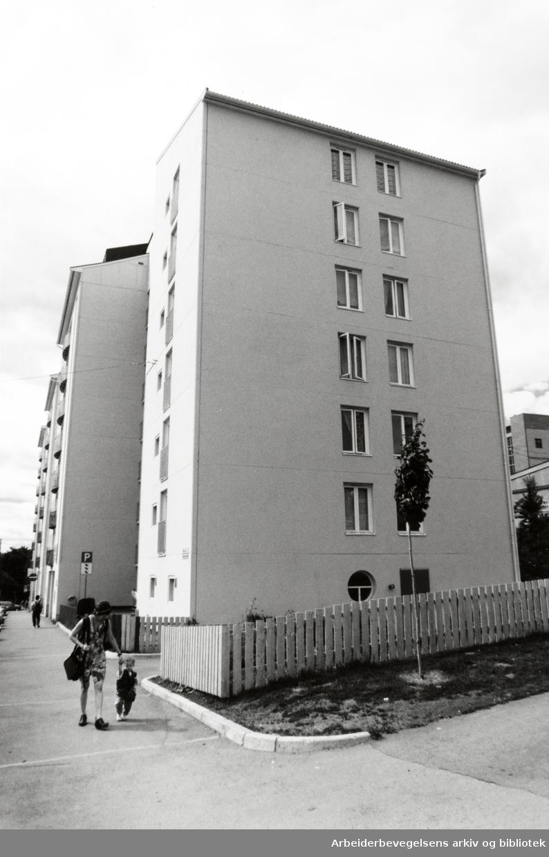 Borggata. Juli 1994