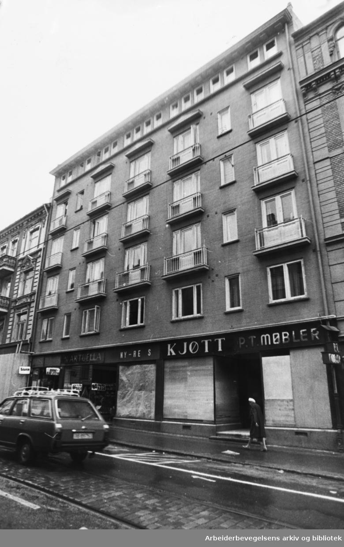 Bogstadveien 64. September 1977