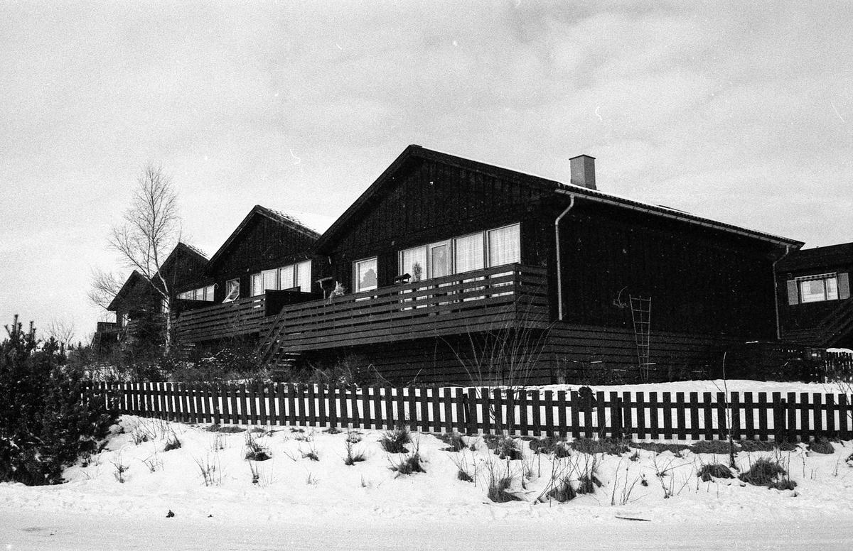 Brekkeskog Borettslag sør for Moerfeltet i Ås.