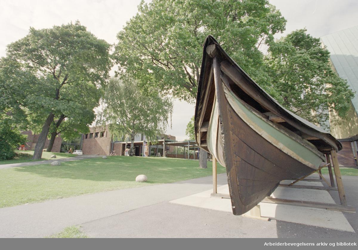 Bygdøy. Norsk Sjøfartsmuseum. 3. september 1996
