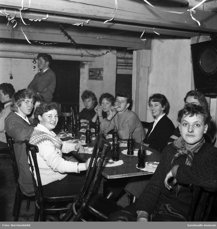 Luciafest och 50-årsjubileum för SGU i Sundsvall (Sveriges Godtemplarungdom).
