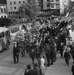 En stor serie bilder från firandet av Svenska flaggans dag 1