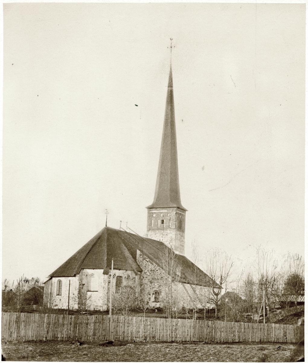 Vggmlning i St. Nicolai kyrka i rebro - Picture of S:t Nicolai