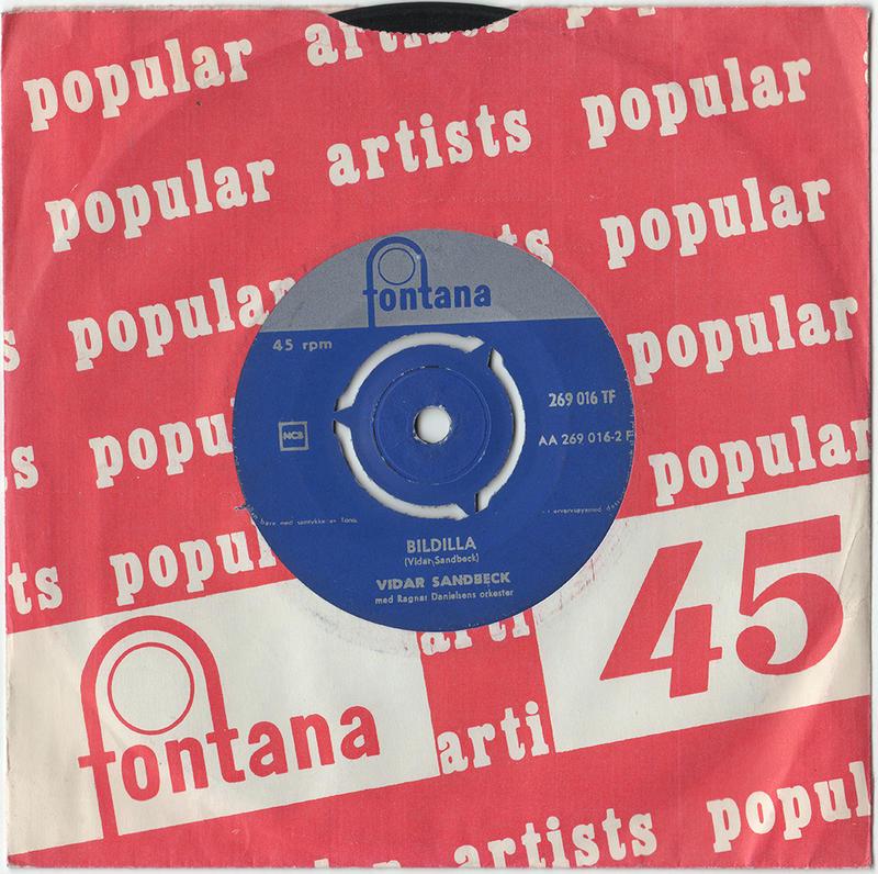 Vidar Sandbeck single nr. 8