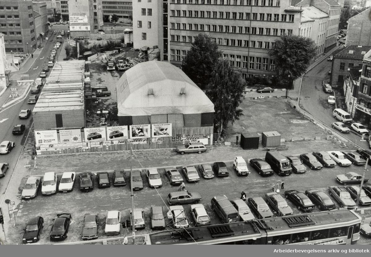 Dittenkvartalet. September 1986